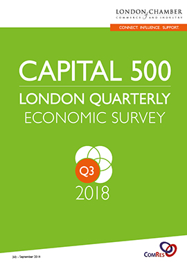 Capital 500: London Quarterly Economic Survey, Q3 2018