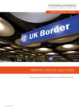 Permits, Points and Visas: Securing practical immigration for post-Brexit London