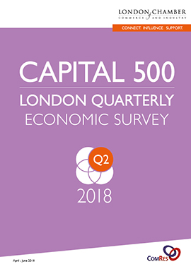 Capital 500: London Quarterly Economic Survey, Q2 2018