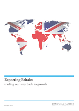 Exporting Britain: trading our way back to growth