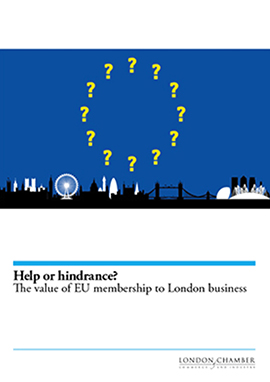 Help or hindrance? The value of EU membership to London business