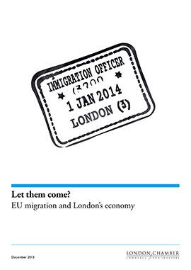 Let them come? EU migration and London's economy