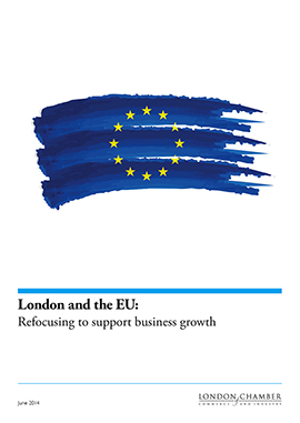 London and the EU: Refocusing to support business growth