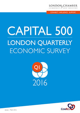 Capital 500: London Quarterly Economic Survey, Q1 2016