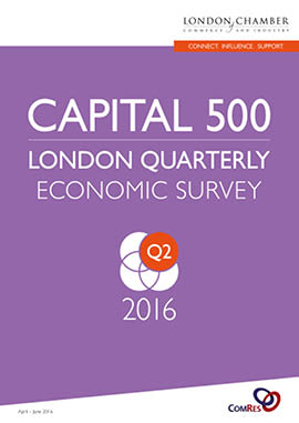 Capital 500: London Quarterly Economic Survey, Q2 2016