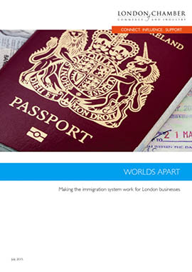 Worlds Apart: Making the Immigration system work for London businesses